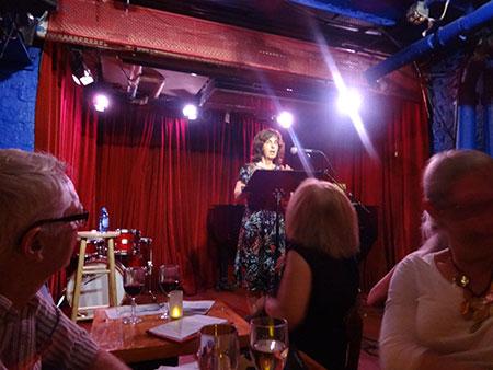 Wendy Brandmark and the Cornelia Street Café