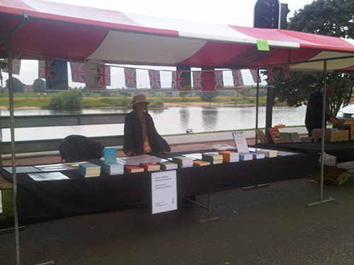 Our stall in Deventer