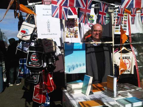 Author enjoying Portobello Market
