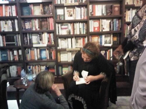 Karen Jennings signing