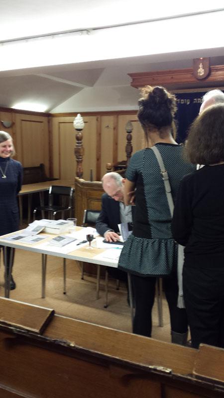 Anthony Ferner signing