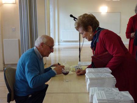 Norbert Hirschhorn signing